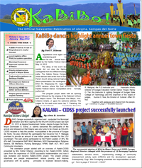 Kabibo Newsletter Issue 01